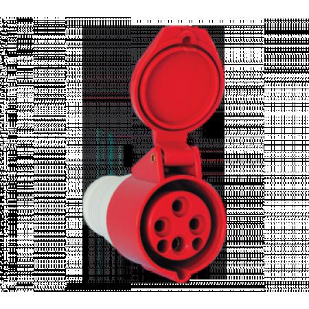 PRIZA MOBILA 224 .32A IP44 3P+E
