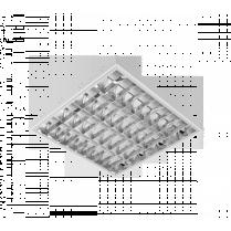 LAMPA IND.MIKA MAGNETIC BALLAST 4X18 APARENT