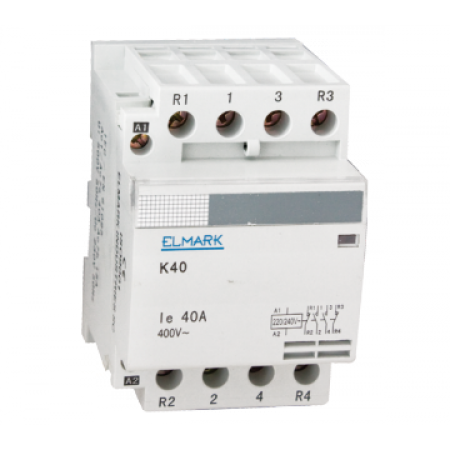 CONTACTOR MODULAR  K40  25A 230V 2NO+2NC