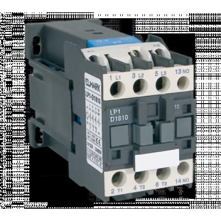 CONTACTOR  LP1 -D6510   65A    230V 1NO+1NC  ELMARK
