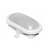 LAMPA BAT CU LED APLICAT 6W IP44 12-24V ALB