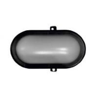 LAMPA BAT CU LED APLICAT 6W IP44 230V NEGRU