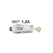 Senzor de miscare cu dulie E27 - unghi detectie 360°