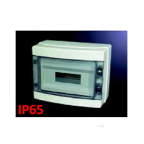 Tablou din plastic pe tencuiala IP65 cu 12 module