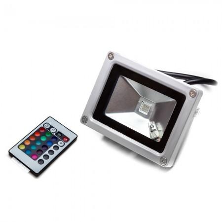 PROIECTOR  LED RGB CU TELECOMANDA INFRAROSU 10W VEGA10 RGB ELMARK