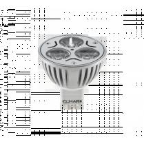 BEC CU LEDURI LED3 GU5.3,3W,12V LUMINA RECE ELMARK