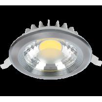 SPOT LED RDLCOB 30W 4000K-4300K 230V SATIN NICHEL