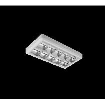 CORP DE ILUMINAT LENA-V CU TUB CU LED(600MM) 2X10W 6200K OM 300/600 TIP V