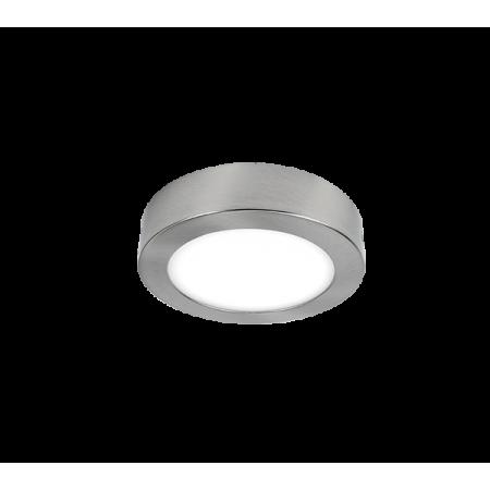 LED PANEL APARENT ROTUND 21W 2700K-3000K SATIN NICHEL Ф225MM