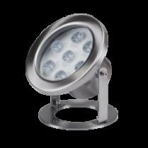 SPOT CU LED SUBACVATIC RGB 6X1W 12V IP68 ELMARK