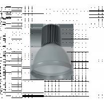 LAMPA INDUSTRIALA MINICOLOR 30W CU LED GRI 98MINICOL-GR