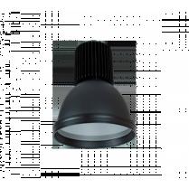 LAMPA INDUSTRIALA MINICOLOR 30W CU LED NEGRU 98MINICOL-BL