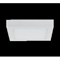 LED PANEL APARENT PATRAT 21W 2700K-3000K ALB 235MM/235MM