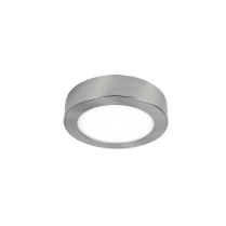 LED PANEL APARENT ROTUND 13W 4000K-4300K SATIN NICHEL Ф175MM