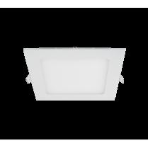 LED PANEL PATRAT 12W 2700K-3000K ALB 150MM/150MM