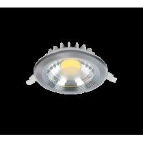 SPOT LED RDLCOB 10W 4000K-4300K 230V SATIN NICHEL