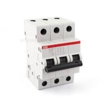 Siguranta automata tripolara SH203-C63 3P 63A ABB