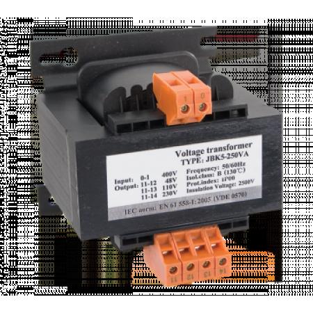TRANSFORMATOR DE RETEA  500VA 400V/110V -48V-24V