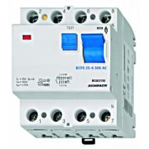 Intreruptor diferential 25A 4poli 300mA
