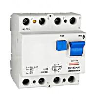 Intreruptor diferential 63A 4poli 100mA