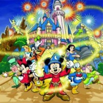 Puzzle magnetic -Clubul lui Mickey 1